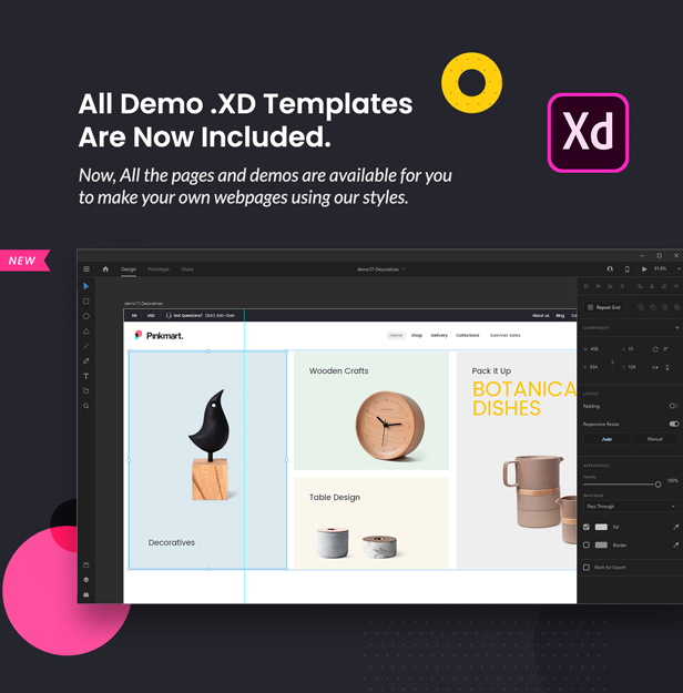 Pinkmart - WooCommerce WordPress Theme - XF file