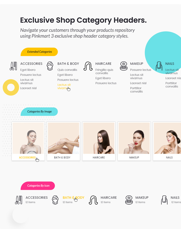 Pinkmart - WooCommerce WordPress Theme - shop header