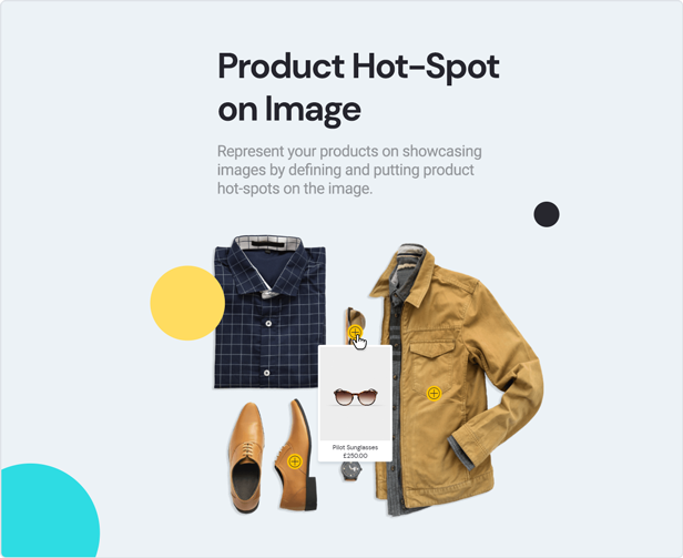 teta - WooCommerce WordPress Theme - Image Hot Spot