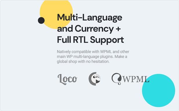 teta - WooCommerce WordPress Theme - Multilanguage and RTL