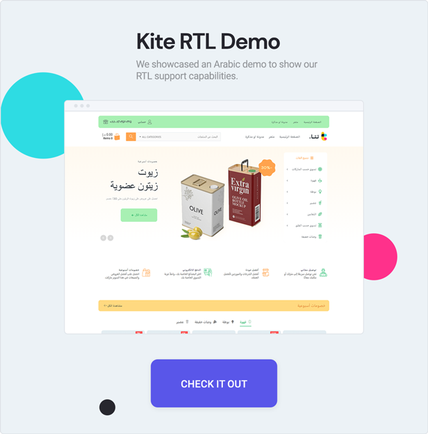 teta - WooCommerce WordPress Theme - RTL Demo